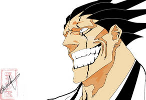 Full Kenpachi Zaraki Vector by juliocfg