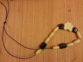 Paw print necklace by Harproy by BackhandBLAM