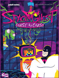 Space Ghost Poster by GreenMachine by BackhandBLAM