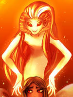Ava's demon - Wrathia Bellarmina by MelSpontaneus