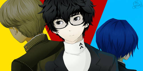 Persona 5 by MelSpontaneus