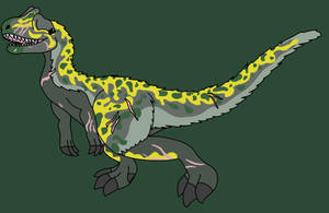 Allosaurus by RHPengui