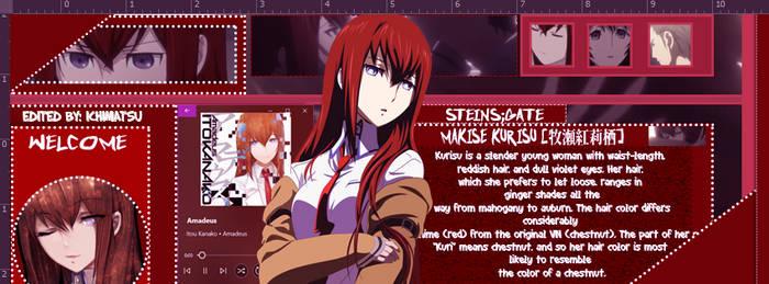 IggyStyle Makise Kurisu by MikaelaHoover