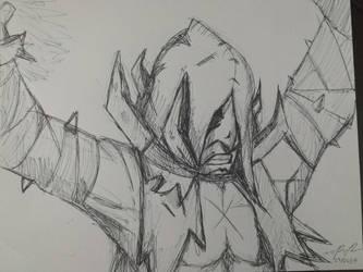 Doodles of Doom - The Flagellant by CaeusDoom