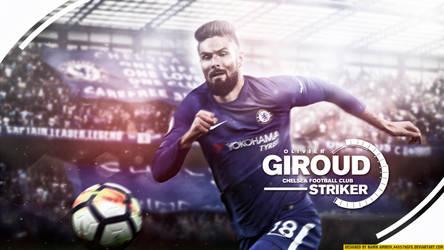 8888 Olivier Giroud By Namik Amirov by 445578gfx