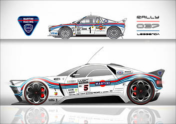 Lancia-Abarth Rally 037 Leggenda Concept (2) by CrivBlock