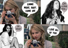 Faberry: Paparazzi by mjor