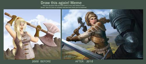 Draw me again Kirki by avisnocturna