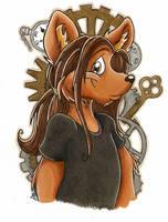 Fabian Wolf by kazzycaboodles