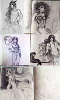 Sketchbook Dump by Roots-Love