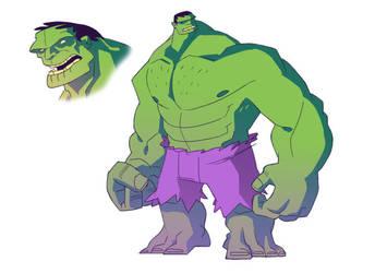 Hulk by BryanTheEvery