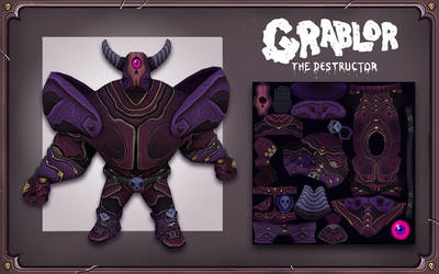 Grablor The Destructor! by BryanTheEvery