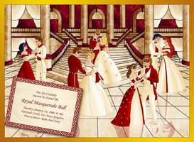 Disney Masquerade Ball by literary-magic