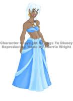 Kida, Princess of Atlantis by literary-magic