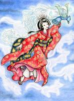 Yaegaki Hime by eurynomos