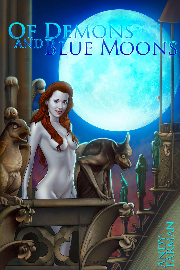 Cover- Of Demons and Blue Moons- by Sanju by Trench-ADF