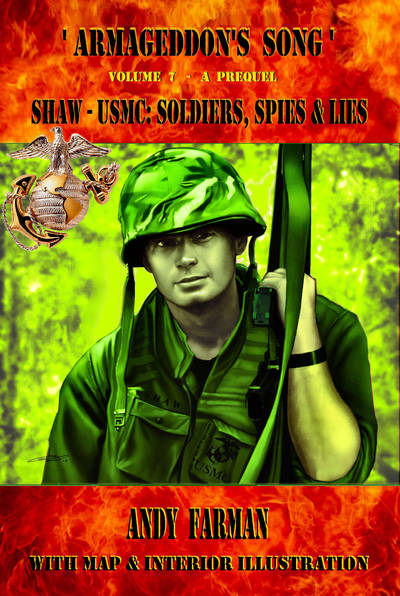 'SHAW-USMC: SOLDIERS' cover by Trench-ADF