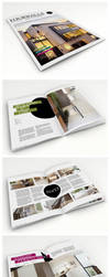 Fourwalls - Modern Print Template A4 by isoarts2