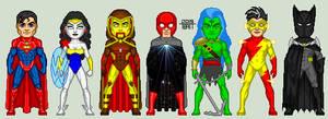 Justice League Alpha: One Million by EverydayBattman