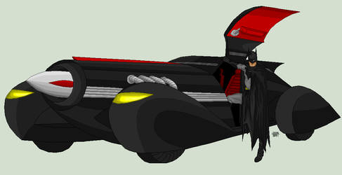 Batmobile by EverydayBattman