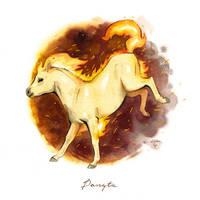 Ponyta by claratessier