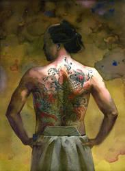 yakuza by claratessier