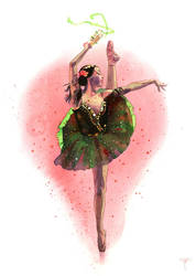 Esmeralda by claratessier