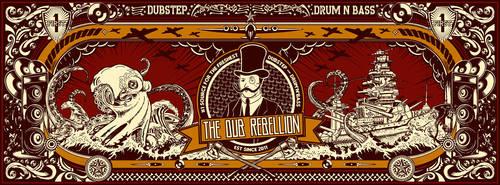 DUB REBELLION facebook HD orange02 by LOWmax911
