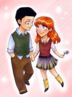 Dick and Barbara by d00li