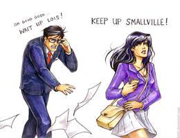 Keep Up Smallville by d00li