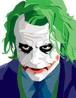 Joker Portrait by memorypalace