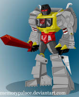 G1 Grimlock by memorypalace