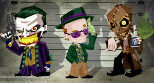 The Notorious Suspects by memorypalace