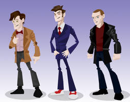 Dr Who : The Animated Series by memorypalace