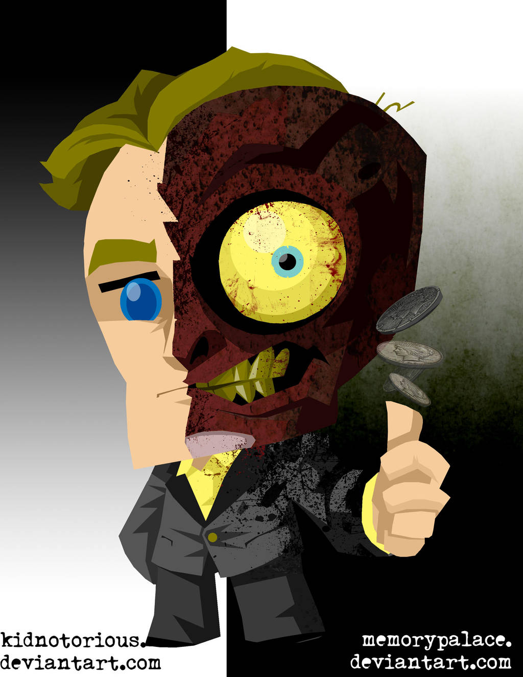 lil' Two Face by memorypalace