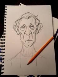 Sketchy McKellen by memorypalace