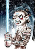 Rey Awakens by memorypalace