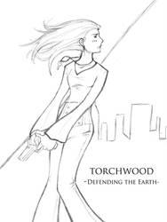 Defending The Earth by SuperherogirlCat