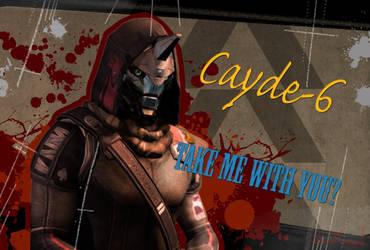 Cayde-6 Borderlands by RighteousThunder