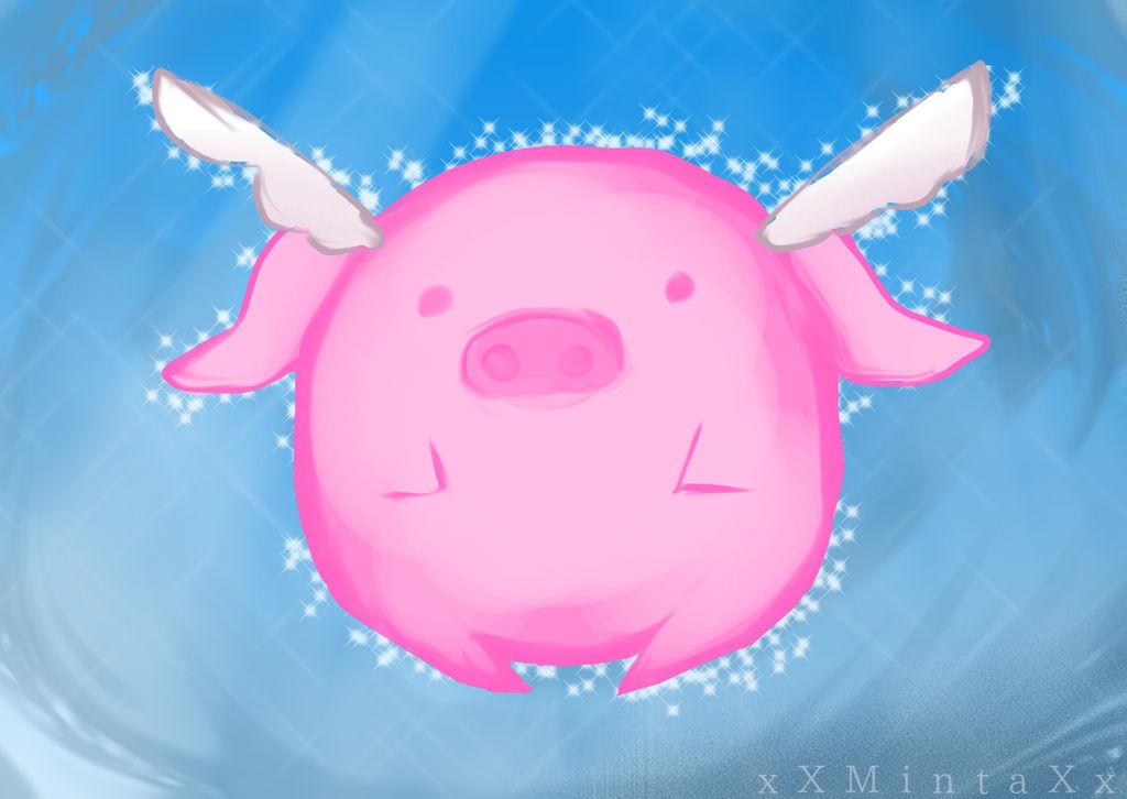 Flying Pings Logo ( Flying Pings fan-art ) by xXMintaXx