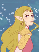 Zelda by TheInnocentDevil