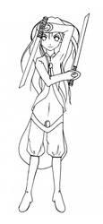 Nebride the teen warrior by zhuque