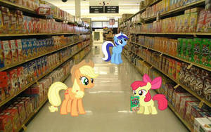 In The Cereal Aisle by dontae98