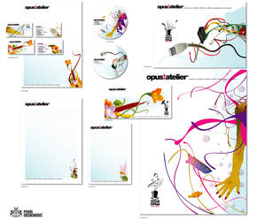 opus atelier_stationary by PoorDesigners