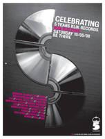 5years Klik Rec. Party Poster by PoorDesigners