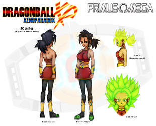 Kale (5 years after TOP) Character Sheet by PrimusOmega96