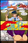 Muscle Wars page 1 by ArtbroJohn