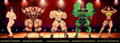New Years Mega Muscle Blast by ArtbroJohn