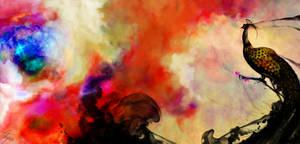 Black Phoenix of Chinese by dark00widow