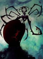 Widowra the Spider Queen [Arachne] by dark00widow